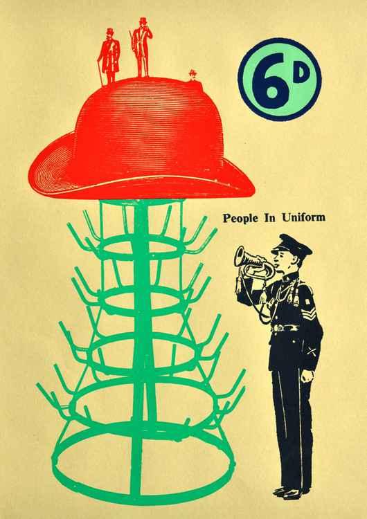 Marcel Duchamp's hat. Dada print 31 -