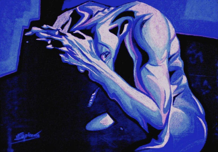 Regret 2... /study of the human body  - Image 0