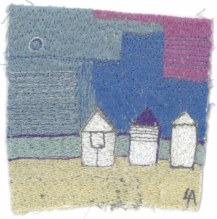 Three Beach Huts in a row - Image 0