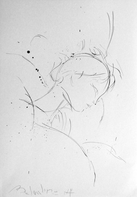 Sleeper #2, 29x42 cm - Image 0