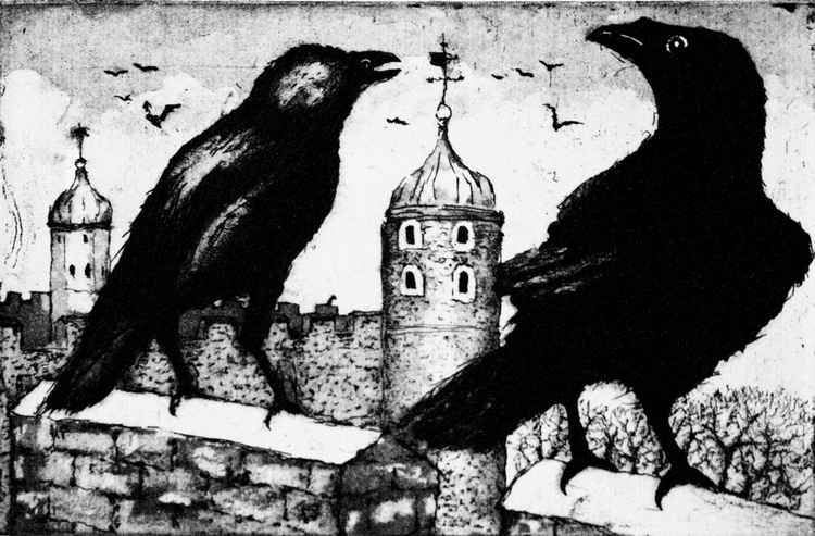 Ravens at the Tower