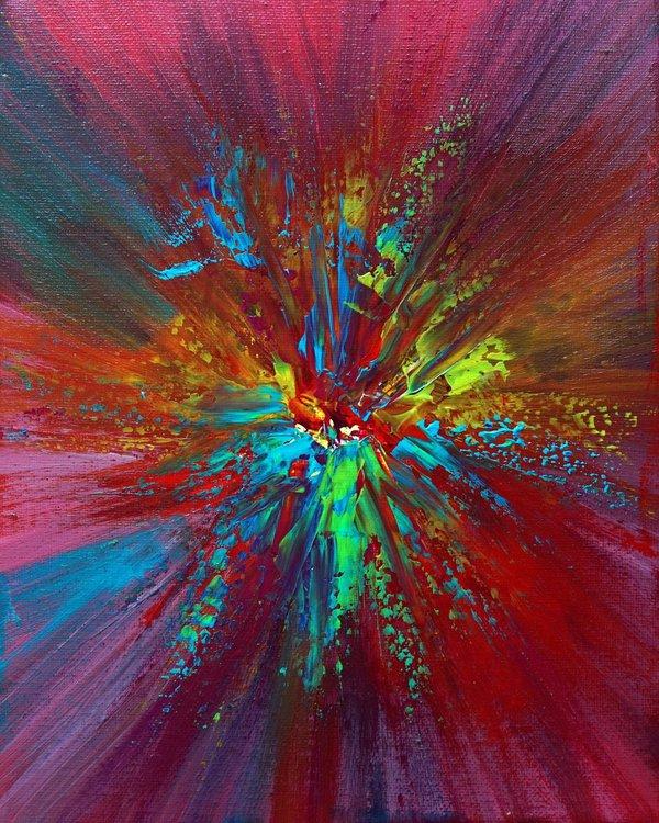 bright neon color explosion by richard vloemans artfinder