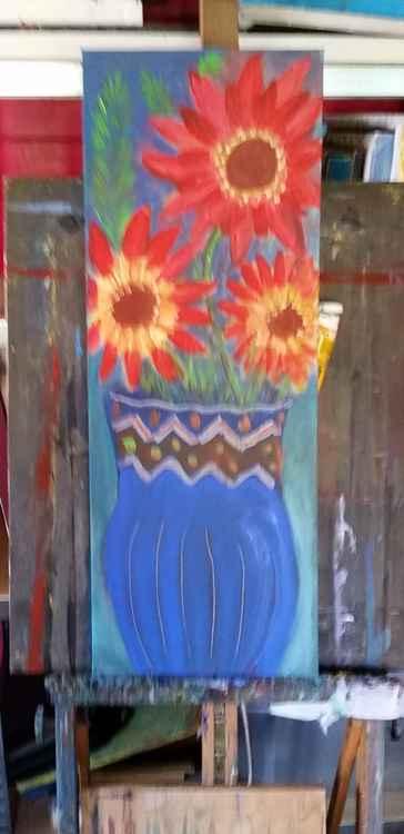 """Blue vase"" -"