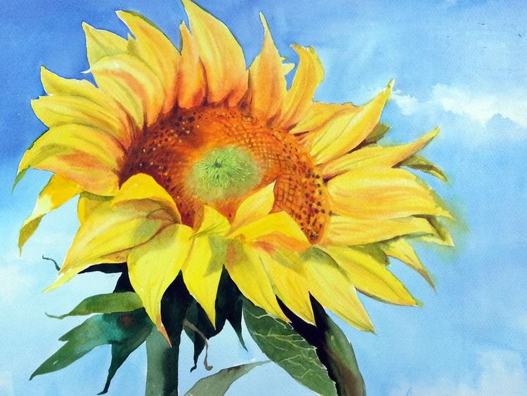 Bright Sunflower - Image 0