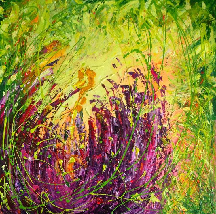 Blooming Huge Crocus - Image 0