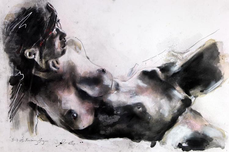 3-1-15 reclining figure - Image 0