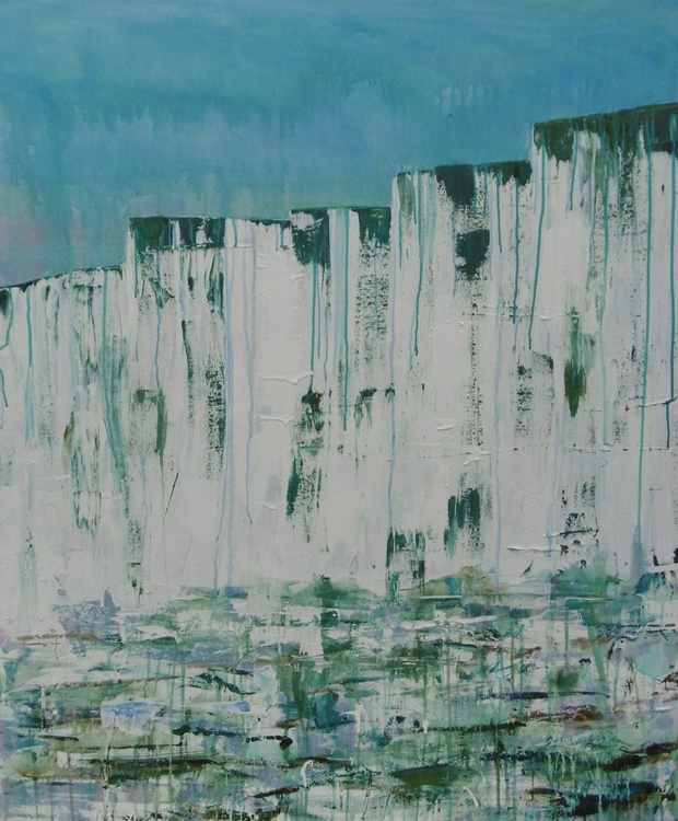 'White Cliffs, Up Close and Personal'  Large Abstract - Image 0