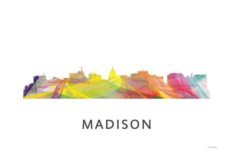 Madison Wisconson Skyline WB1 -