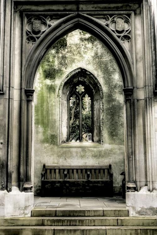 Church window : Take a seat  (Limited edition  2/50) 12X18 - Image 0