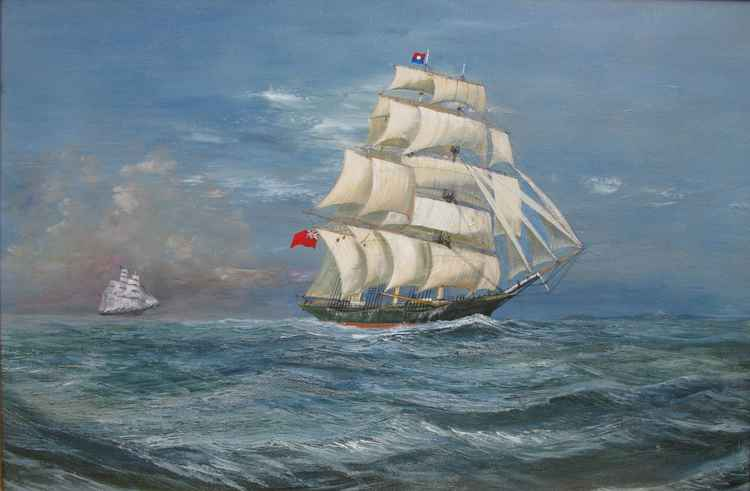 The Great T race Thermopylae v Cutty Sark