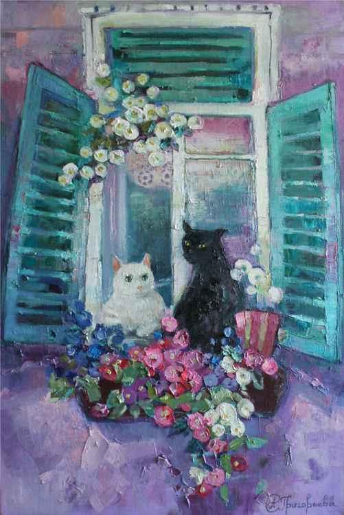 Feline date -