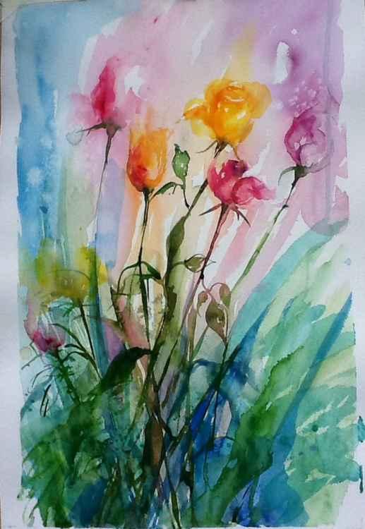 Birthday Roses -