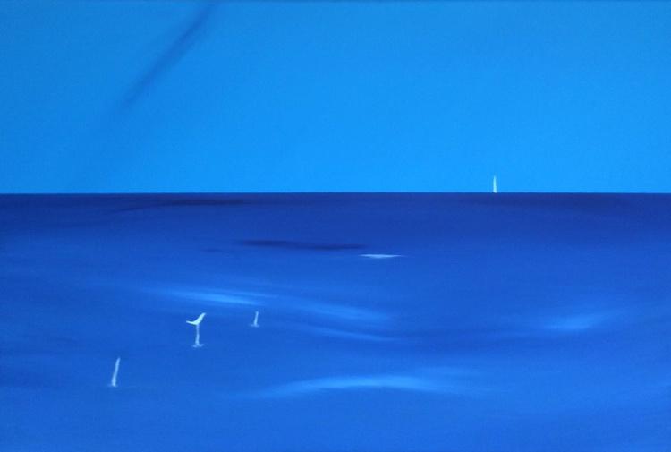 """ deep blue "" - Image 0"