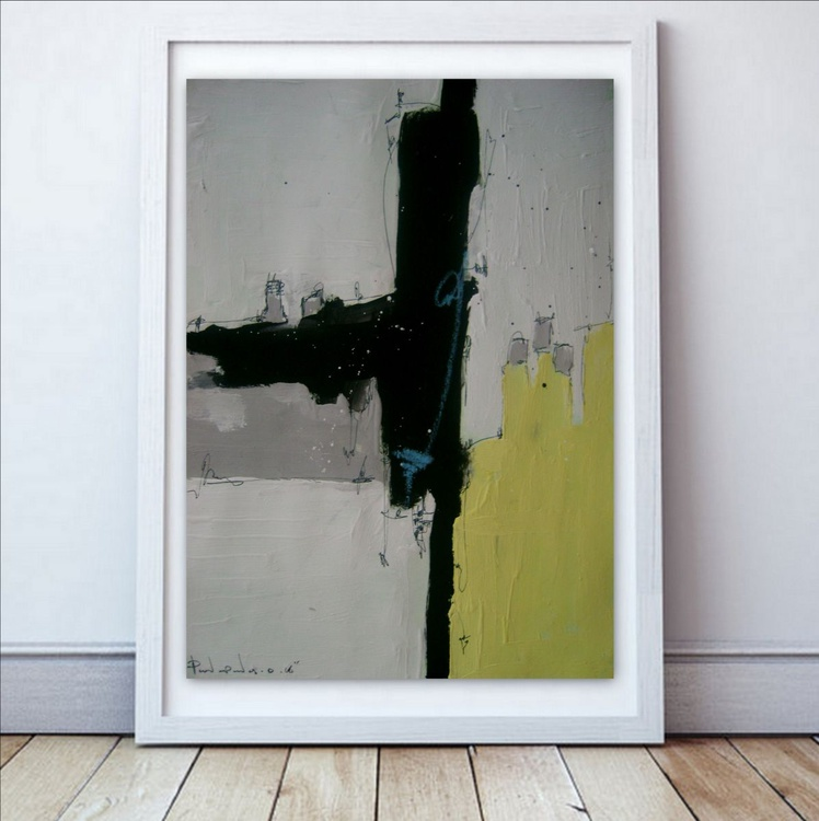 Yellow No 113, Abstract paper collection - Image 0