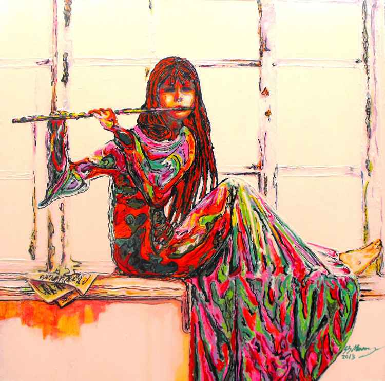 The Colours of Music 2, The Flutist. -