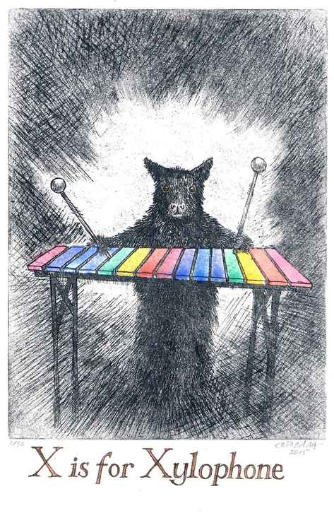 X is for Xylophone -