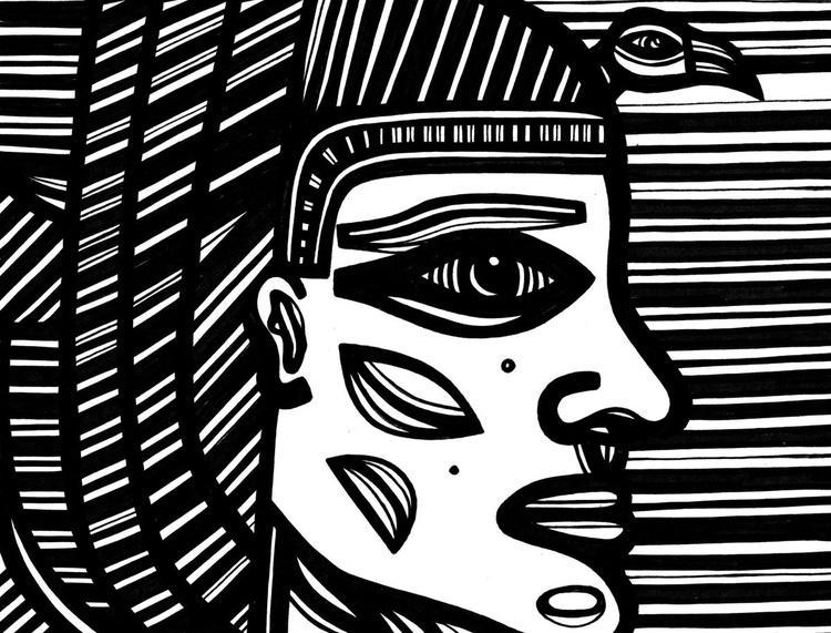 Egyptian Prince Original Drawing - Image 0