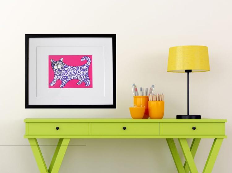 I am not a decorative object - Pink - Unframed - Image 0
