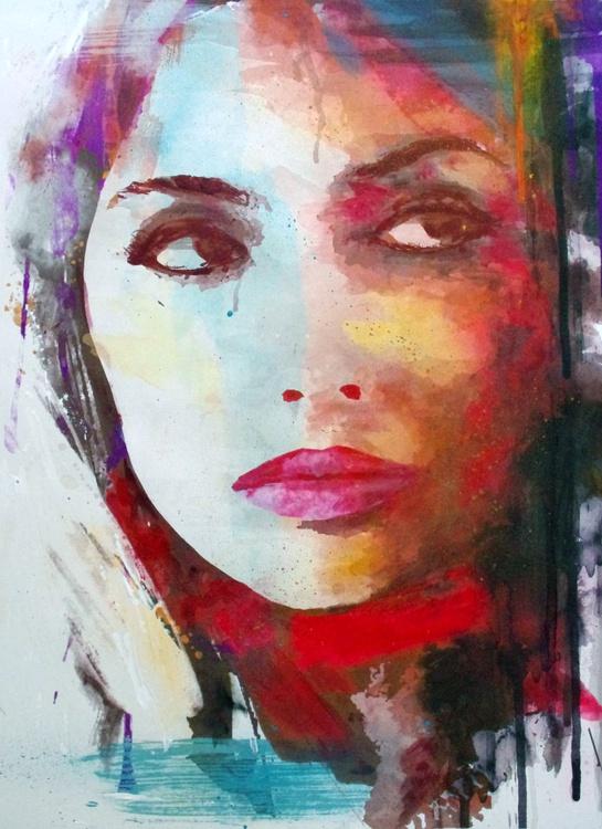 American Indian  - portrait, girl, beauty - Image 0