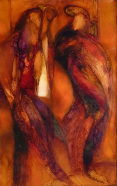 Metafigure #63, oil on canvas 116x73 cm - Image 0