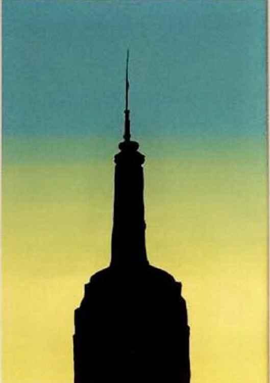 Empire Sunrise (Framed)