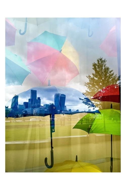 "All under one umbrella  ( LIMITED EDITION 1/50) 12""""X18"" (white border) - Image 0"