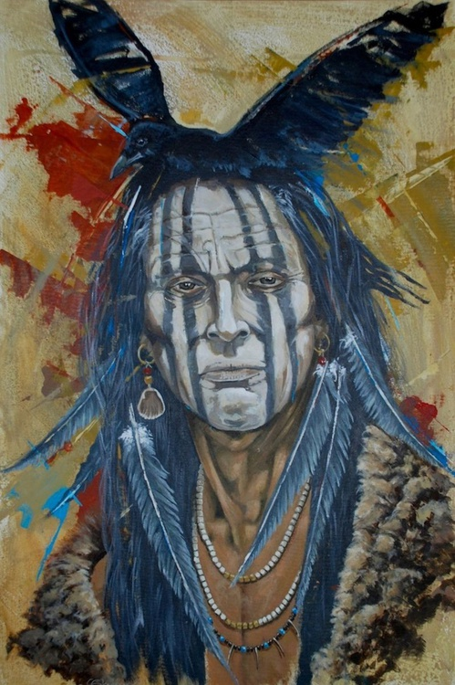 Crow Indian - Image 0