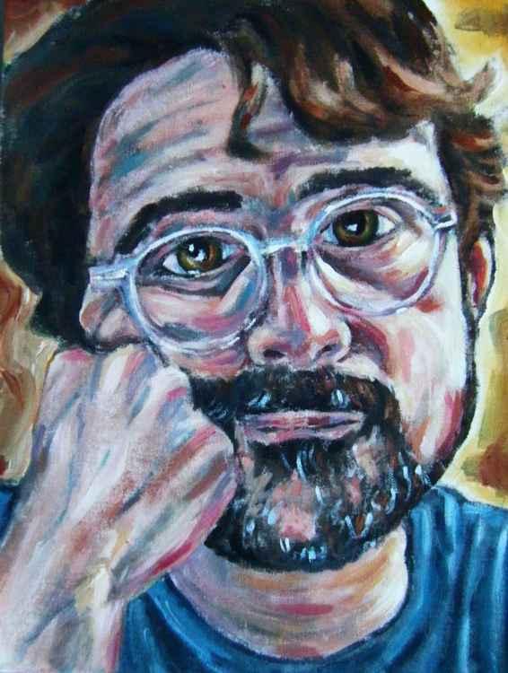 Portrait of an artist -