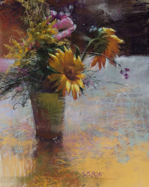 Bouquet with sunflowers - Image 0
