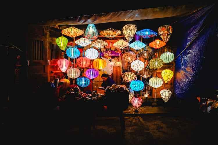 Lanterns of Hanoi, Vietnam