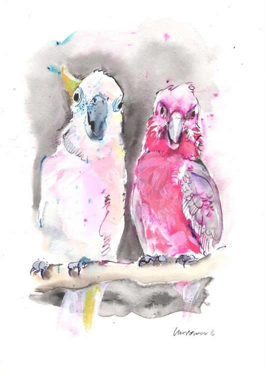Cockatoo Mates - Daily Bird #64 - Image 0