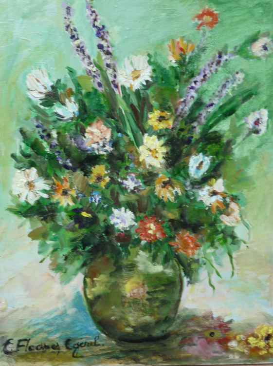 Wildflowers in a Vase -