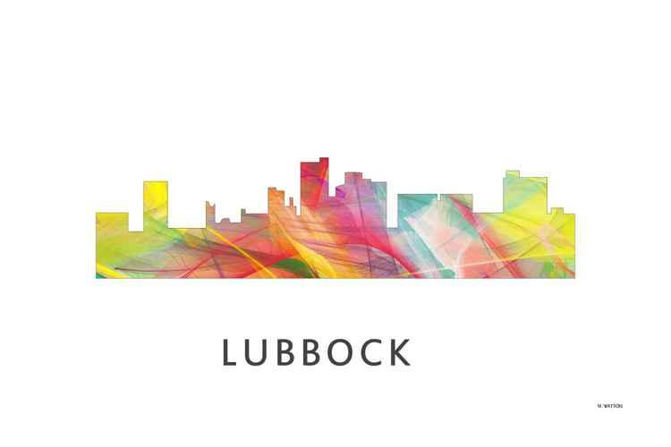 Lubbock Texas Skyline WB1 -
