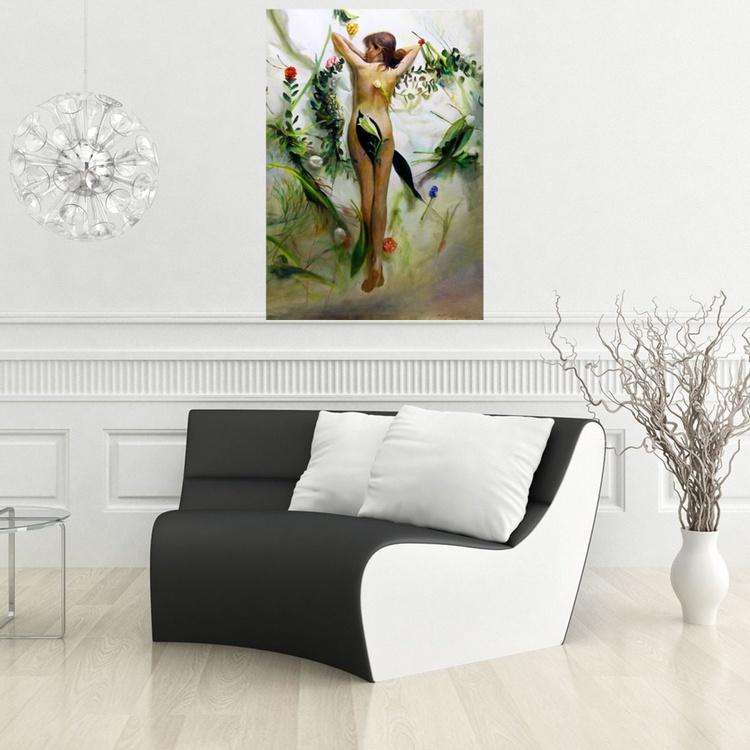 Spring motive 100 × 70cm - Image 0