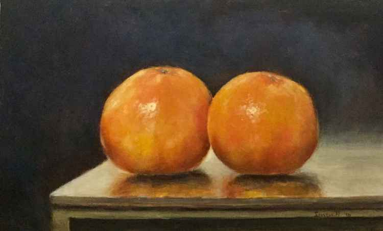 The Glow of Oranges -