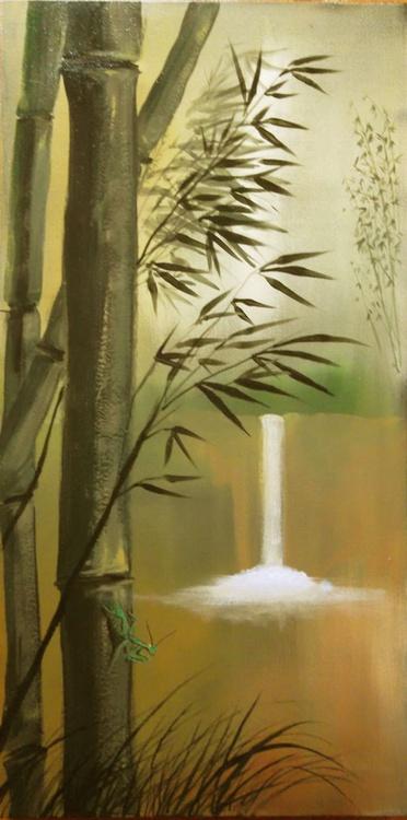 Praying Mantis at Bamboo Falls - Image 0