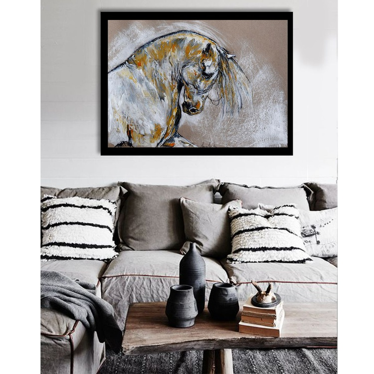 Proud  / Horse painting - Image 0