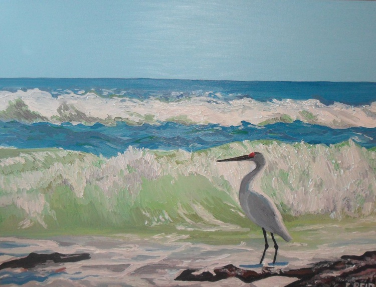Heron by the Sea - Image 0