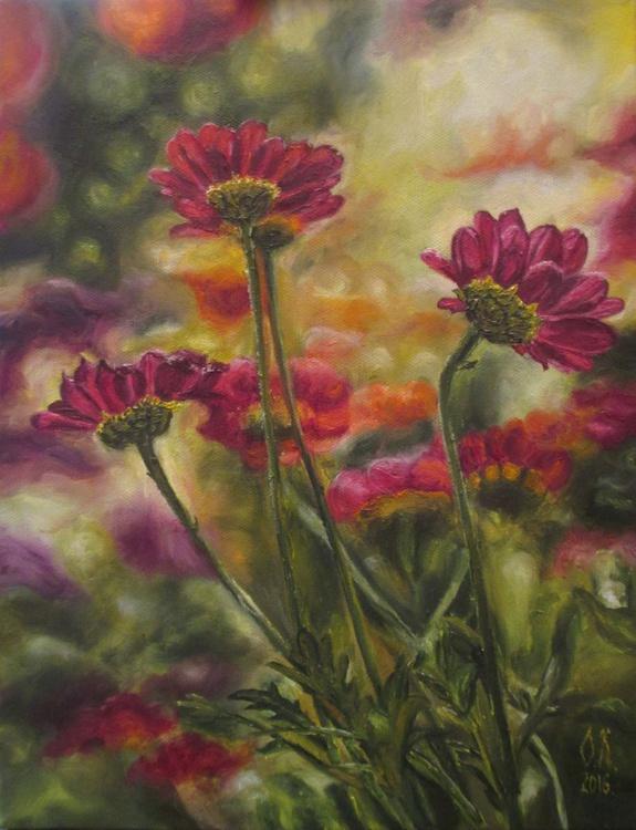 Pink garden - Image 0