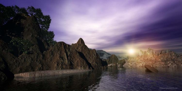 At the edge of the lake - Image 0