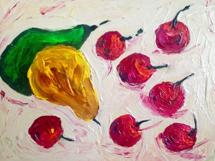 Pears and cherries - Image 0