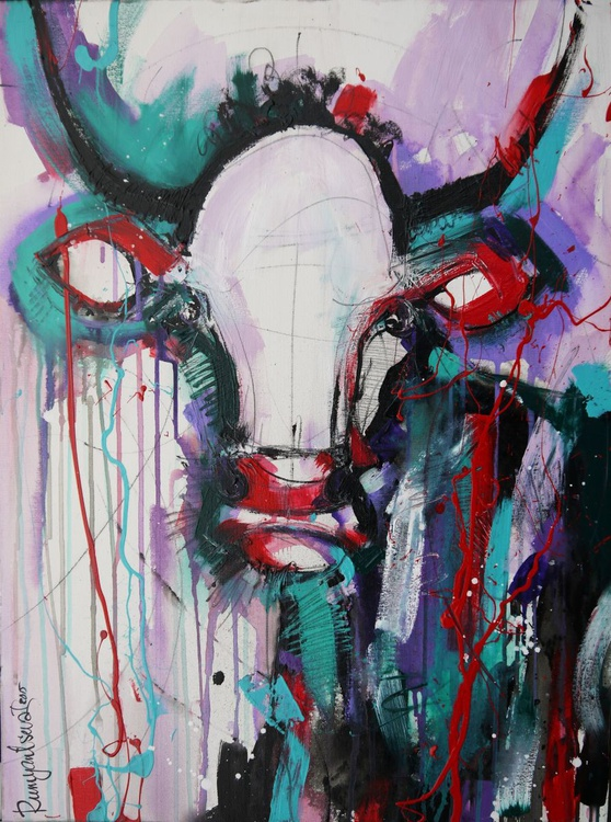 Funky Cow 9 - Image 0