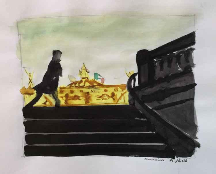 Street Scene / Opéra -
