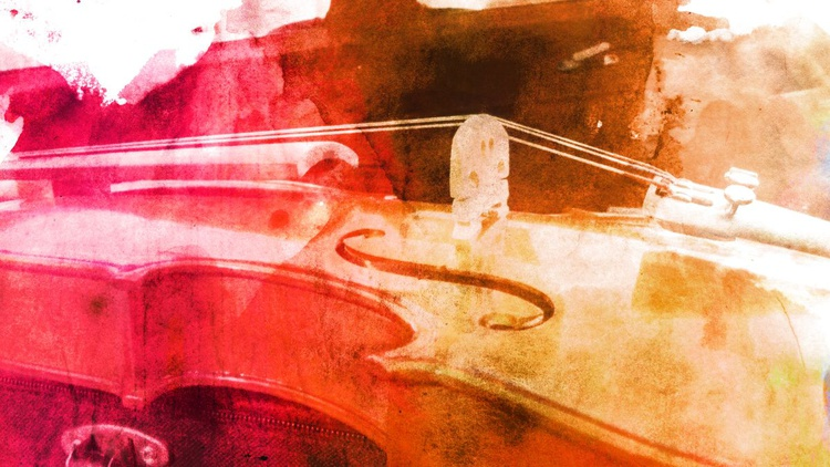 """""""Color Violin""""  (from the Color Music 00 Series) - Image 0"""