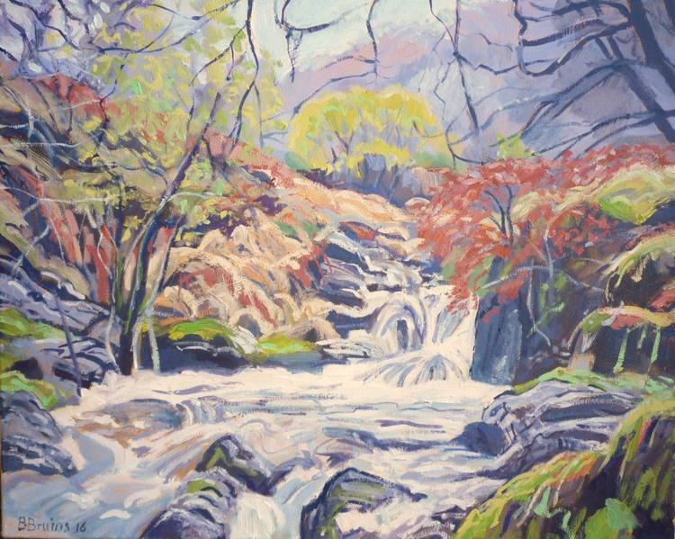 Rapids at the East Okement River, Dartmoor - Image 0