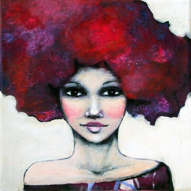 Burgundy hair - Image 0