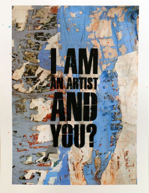 Tehos - I am an artist and You #/30 - Image 0