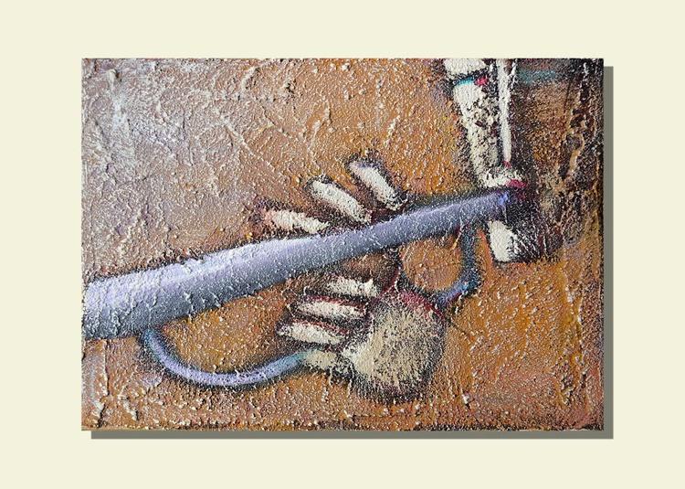Trumpet (15x21x1.5cm) - Image 0