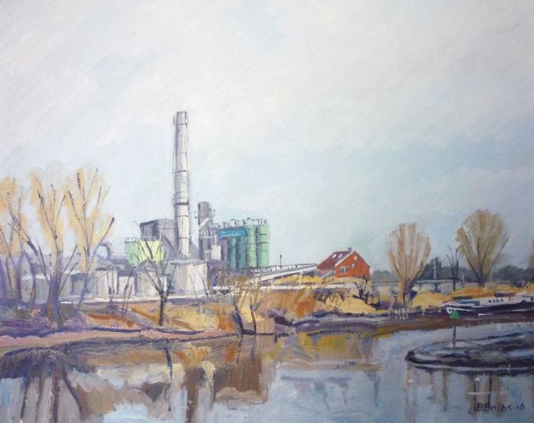Factory at Gouda - Image 0