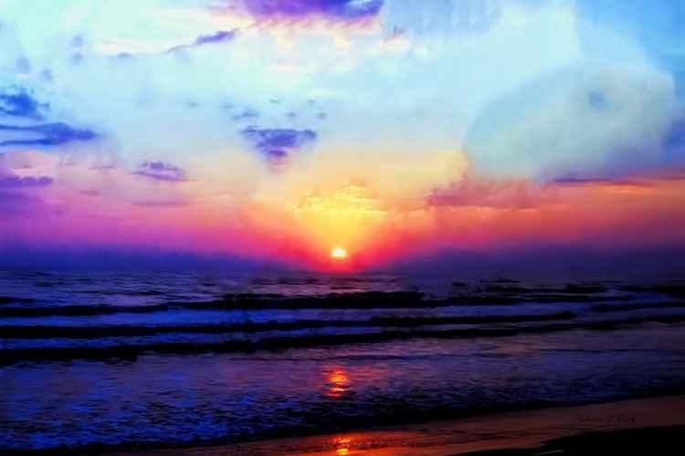 FOLLY BEACH SUNRISE -